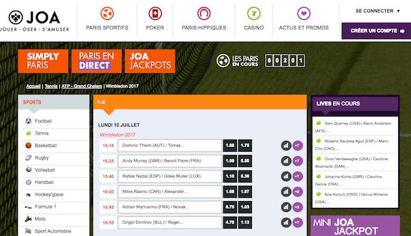 JOA Online Wimbledon 2017