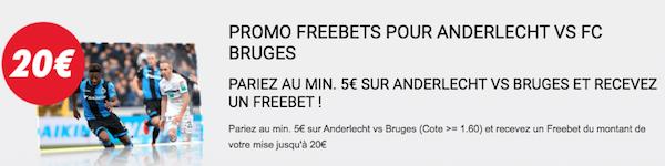 Paris sportifs Anderlecht Bruges