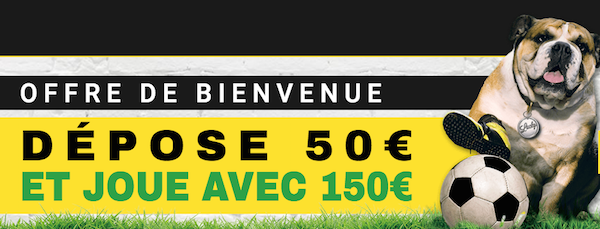 Inscription 100€ BetFirst
