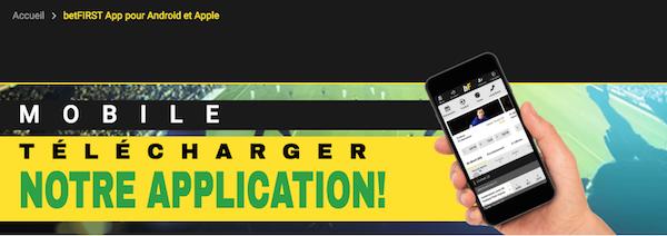 betFirst App télécharger