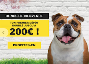 200 euros de bonus pour vos paris sportifs chez bookmaker betFIRST