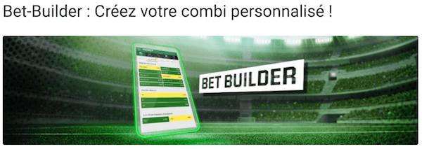 Unibet Belgium Bet builder