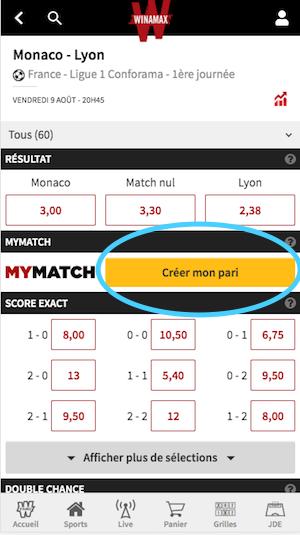 MyMatch Monaco - Lyon