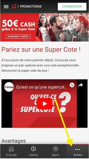 Circus Super Cote