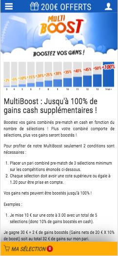 France Pari Multi Boost