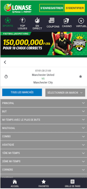Man Utd vs Man City cotes paris sportifs
