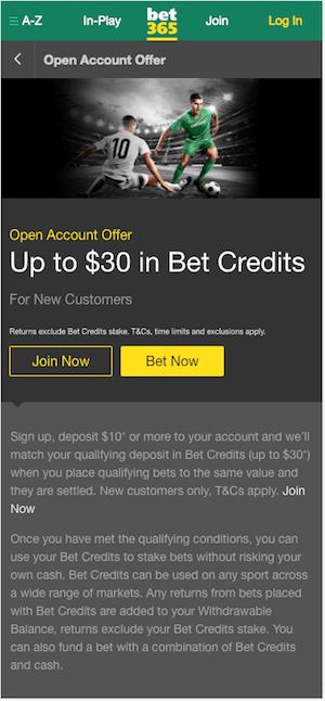 bonus bet365