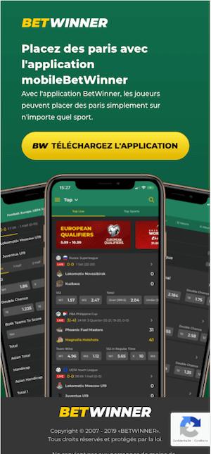Betwinner app apk