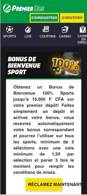 premier bet bonus