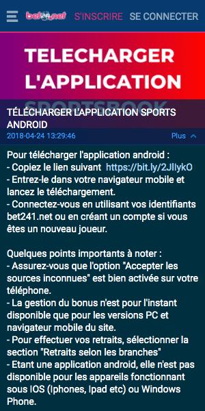 telecharger bet241