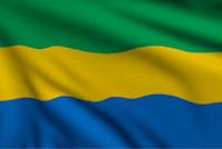 Gabon drapeau